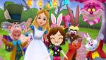 Disney-magic-world - alice-in-wonderland's-world