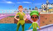 Peter Pan and Mii Photos