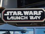 Star Wars Launch Bay Sign