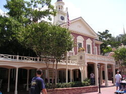 The Hall of Presidents Magic Kingdom
