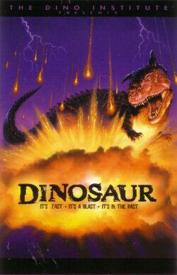 Dinosaur ride poster
