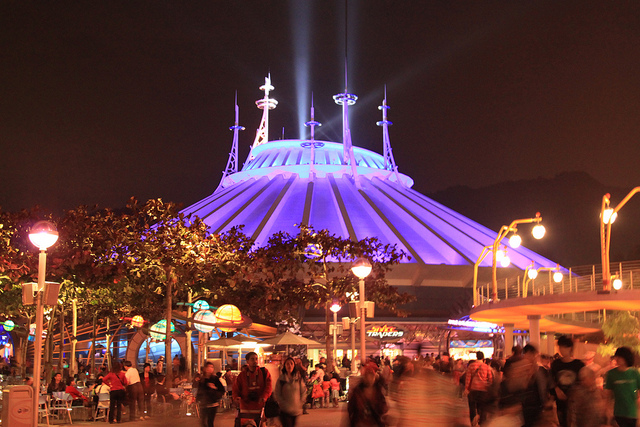 Space Mountain Hong Kong Disneyland Disney Parks Wiki