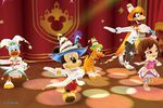 DMW2 - Mickey with Pals and Mii Dance Show