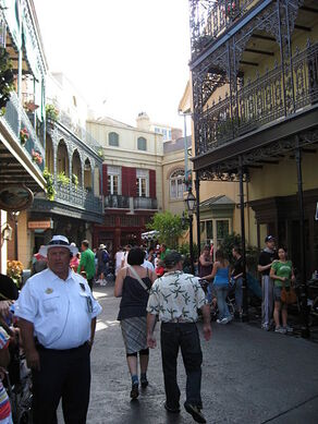 Disneyland Park - New Orleans Square