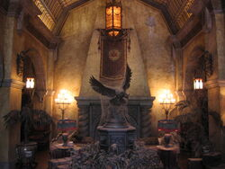 The Twilight Zone Tower of Terror--Hotel Lobby