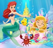 DMW2 - The Little Mermaid's World