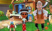 Pinocchio Geppetto and Mii Photos
