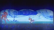 Bambi in winter dreams