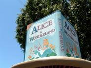 Alice in Wonderland Dark Ride