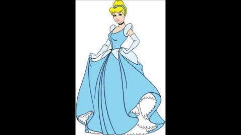 Jennifer Hale as Cinderella in Disney Share A Dream Come True Parade