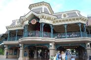Disneyland Railroad Paris Main Street Station