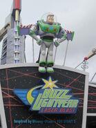 Buzz Lightyear Laser Blasters Sign