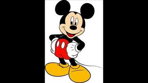 Wayne Allwine as Mickey Mouse in Disney Share A Dream Come True Parade