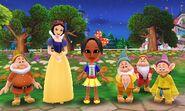 Snow White the Dwarfs and Mii Photos