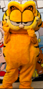 Garfield Mascot