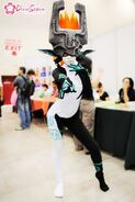 Midna cosplay by leziith-d464nek