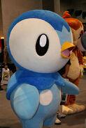Piplup pochama mascot costume 2 by chikochikori-d4xu9ci