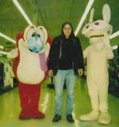 Ren and Stimpy Mascots