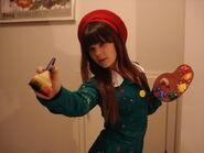 Adeleine the painter girl by kbwcosplay-d5llfnx