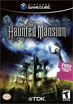 The Haunted Mansion GameCube