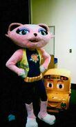 Danger Rangers Kitty Mascot