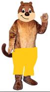 Muskie Muskrat Mascot