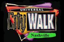 Universal CityWalk Nashvile Logo 2001 - Present
