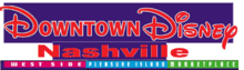Downtown Disney Nashville Logo 2001-present
