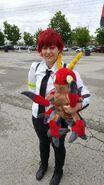 Digimon tri izzy cosplay by kitamon-dbbv968
