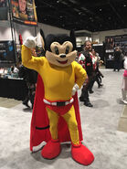 Mighty Mouse Mascot