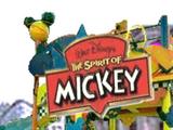 The Spirit of Mickey street show