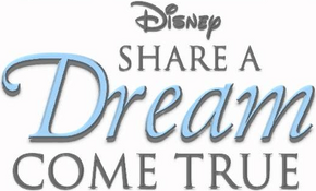 Disney Share A Dream Come True Logo