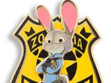 Judy Hopps Police Badge Limited Edition (2016)