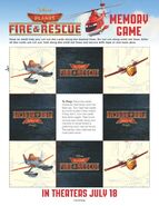 Planes-Fire-and-Rescue-Memory-Game samoloty 2 plakat