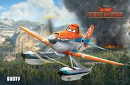 Dusty Crophopper - Planes Fire and Rescue