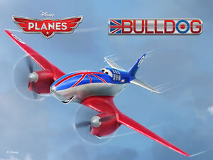 Disneys-Planes Wallpaper Bulldog Standard