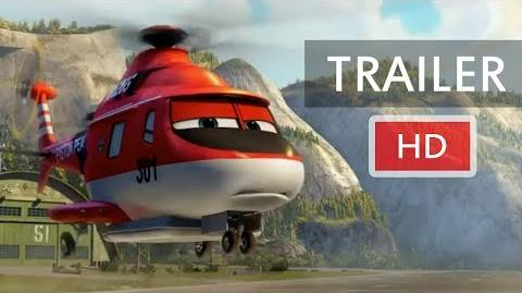 Planes Fire & Rescue Teaser Trailer (2014) HD