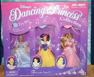 Wal-Mart 3-Pack Dancing Princess Set