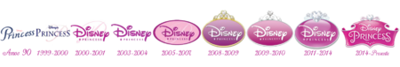Disney Princess Logos