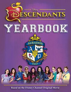 Descendants Yearbook (alternate cover)