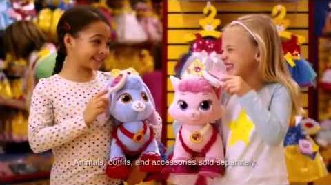 Toy Commercial - Build A Bear Workshop - Princess Palace Pets - Berry & Beauty