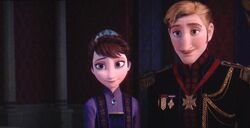 King and Queen of Arendelle