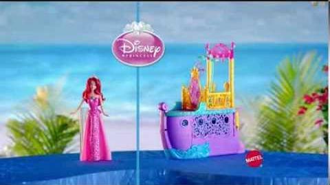 TV Commercial - Mattel - Disney Princess - Mermaid to Princess Ariel