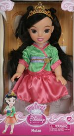 Disney tollytots my first princess mulan doll 3 - nothing but princesses