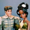 Disney fairytale couples collection doll muñecas disney store 2014 parejas princess princesas heroes princes principe the princess and the frog tiana el sapo naveen