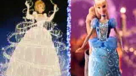 Boneca Disney Princesas Brilhantes