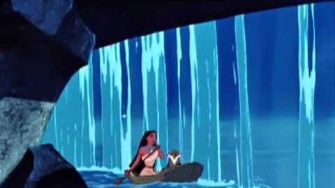 Pocahontas - Lá na curva o que é que vem