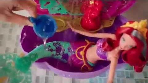 Disney Princess Flower Showers Bathtub Commercial 2015