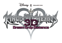 Kingdom Hearts Dream Drop Distance Logo KH3D