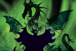 Maleficent Kingdom Keepers Artwork